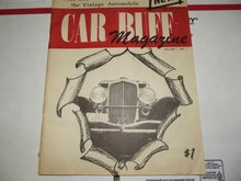 1970 Car Buff Magazine 1st ed Volume.1 NO.1 Duesenberg limousine Auburn Rolls. BIN $300 on ...