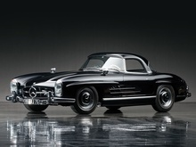 1961 Mercedes-Benz 300SL Roadster up for auction 4/27/2013 through RM.