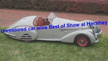 The collector car world has officially entered a new era with an original vehicle scoring ...
