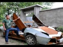 Chinese farmer builds Lamborghini replica to transport fertilizer. If you've ever dreamed of owning a ...