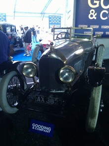 World's oldest Bentley. Chassis #3!