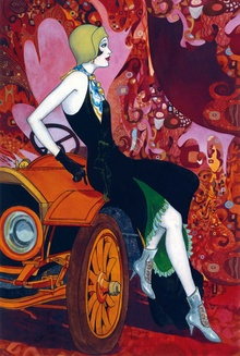 Early art from the era of Gatsby.