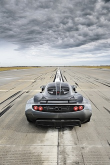 Sometimes you just want to haul ass in a straight line. The Hennessey Venom GT ...