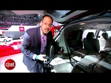 2014 Honda Odyssey has a built in vac! At the 2013 New York auto show, ...