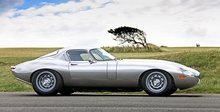 "Eagle plans to supply repops of the famous ""low drag"" Etype Jaguar for a nose-bleed ..."