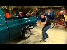 Stacey takes a well worn, '73 Chevy pickup that was left for dead in the ...