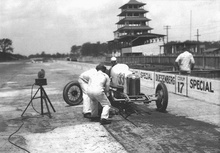 Indy 1929 and 122-in. Miller.