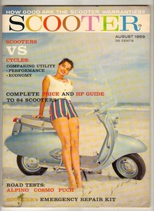 Scooter Magazine, August 1959.