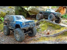 "The RudeBoyz RC crew has some fun ""offroading"" with their mini-rigs."