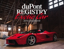Right up my alley. duPont Registry calendar.