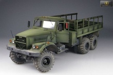 KraZ-255B Soviet Army 6x6 heavy Truck 1/25 MMF25001 resin Minimanfactory - Crisply casted resin parts...unbelievably ...