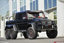 Second Brabus B63S 700 6×6 Could be Yours. Just two units of the insane Brabus ...