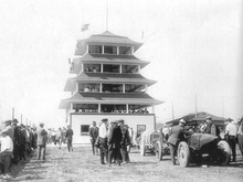 Indy's first pagoda circa 1913.