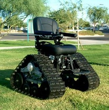 Offroading With The Tank Chair. By David Ponce Nothing like starting work, on a Monday ...