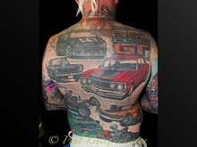 Now this guy is passionate about his cars!!
