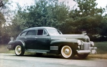 The car I learned to drive: 1941 Cadillac Series 61 sedan with three-speed. Purchased new ...
