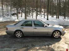 1994 Mercedes E500. Purchased from the original owner 2006. Immaculate and went like a scalded ...