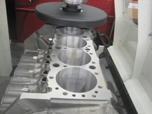 Here's a quick primer on CNC Engine Block Decking and Squaring and Block Surfacing