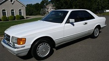 6,500 original miles! 1991 Benz 560SEC for a cool $56,800, yikes!