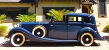 "1934 Rolls Royce Phantom II ""Limousine De Ville"" by Gurney Nutting - ex/Dame Gracie Fields ..."