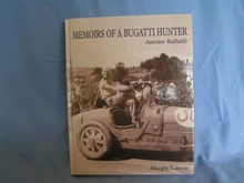 MEMOIRS OF A BUGATTI HUNTER Antoine Raffaelli