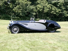 One-off Alvis Speed 25 Tourer.