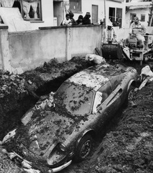 Mystery: How Did a Ferrari End Up Buried in a Backyard? In the 1970s, a ...