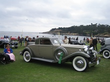 1932 Packard Deluxe Eight Stationary Coupe by Dietrich. One of two built, I believe.