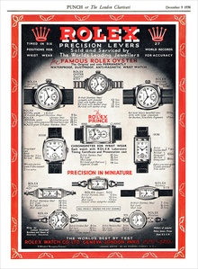 Rolex ad from the 1930s.
