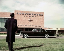 Promo shot for 1956 Lincoln Continental MKII.
