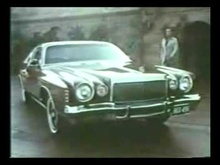 "Famous 1970s commercial for the Chrysler Cordoba with Ricardo Montalban, or better known as, ""Fine ..."