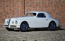 1947 Alfa Romeo 6C 2500 Super Sport Coupe. Displayed at the 2011 Concorso d'Eleganza Villa ...