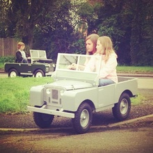 Mini Land Rovers for the privileged class.