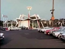 Sinclair gas station 1964 World's Fair.