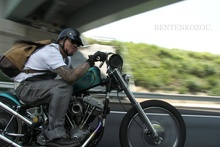 Bikers that ride the seventies chopper style. Check it out http://bentenkozou.jimdo.com/