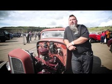 An overview of the VHRA's event at Pendine Sands, Wales (UK), with a bit of ...
