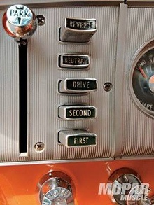 During the early and mid sixties, Mopars featured this unique control setup for automatic transmissions. ...