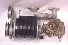 Judson supercharger for an Austin Healy or MG.