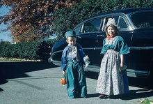 Trick or Treaters early 1950s.