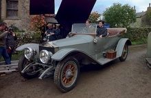 Rolls Royce Silver Ghost tourer used in the hit TV series Downton Abbey.