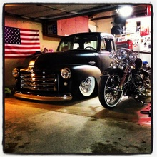 This is the garage of an American man!