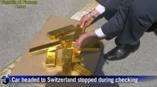 Italian Police Found $6M Worth of Gold In a Car