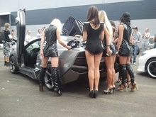 A picture collection of how a 2003 Mitsubishi Eclipse became a Lamborghini Reventon! This car ...