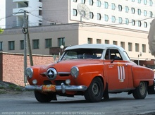 Peking to Paris: car #111, Thomas Hayes(IRL) / Thomas Vann(USA), Studebaker Starlite Coupe, 3785cc, 1951