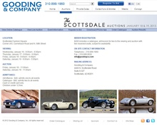 Upcoming Gooding auction in Scottsdale has eye candy for every budget, well almost every budget! ...