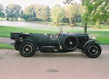 Bentley 4-1/2 litre Le Mans at the Gillmore Gathering.