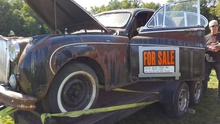 """Needs work"" is an understatement. At today's British Invasion in Stowe VT"