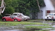 From Barnfinds. Reader Claudio H. discovered this abandoned warehouse in the Palm Beach area. It ...