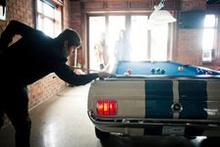 $11,995 scores this 8-ft pool table out of a Shelby Mustang.