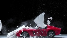 Fabian Oefner explodes views of classic sports cars.
